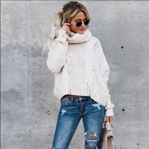 Vici cropped sweater